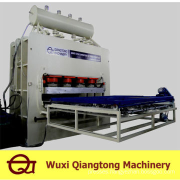 Short-cycle lamination hot press machine/melamine press machine mdf