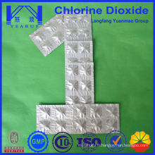 ClO2 --- Table de dioxyde de chlore Tcca Chlorine Tablets