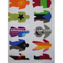 plus de 500 modèles de tissu de toile de coton 100 %