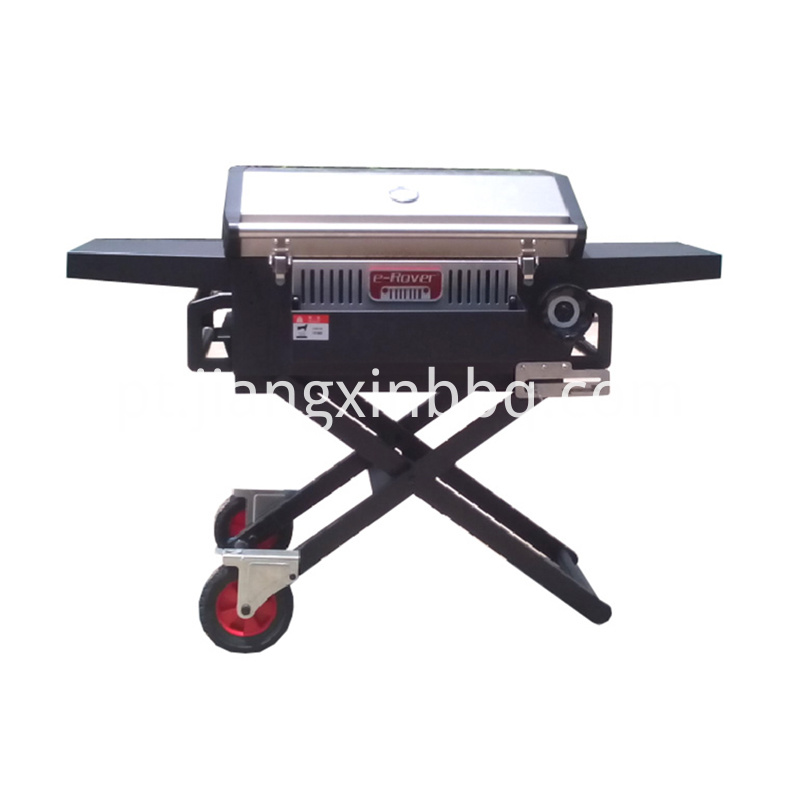 Foldable Outdoor Charcoal Grill Overall View