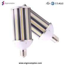 Lámpara de calle de aluminio del cuerpo E40 LED de la lámpara 158lm / W, luz de calle de 80W LED