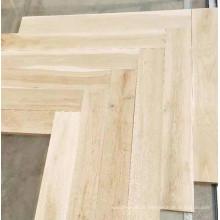 piso de parquete espinha de carvalho cinza claro natural