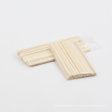 Approved 140*5.5*1.3 mm disposable bamboo Flat end  Coffee Stir Stick
