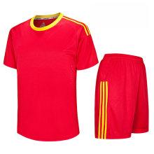 equipo de fútbol en blanco ropa de entrenamiento de fútbol