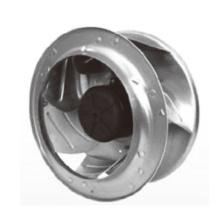 Diamètre 355X206mm Ec Brushless moteur Energy Saving Fan Ec355206