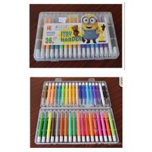 36pcs crayon para crianças pastelaria flexível pastel pastel pastel de óleo