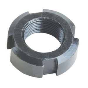 Custom carbon steel round slotted nuts