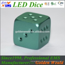 Rot Grün Blau LED Beleuchtung MCU Steuerung bunte LED Vergoldung Würfel