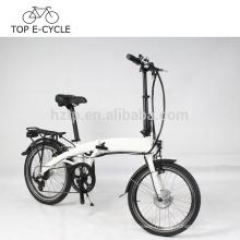 Vélo électrique pliant de DIY pour l'Europe Vélo électrique pliable de 20 pouces avec la batterie cachée