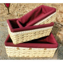 (BC-ST1103) High Quality Handmade Willow Basket