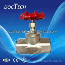 Válvula de globo de aço inoxidável de Mimi Screw 200 WOG /PN16