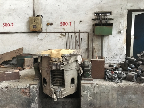 Medium Frequency Induction Furnace0 5t