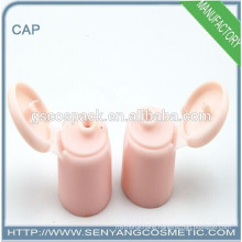 plastic screw cap for bottles aluminum pipe end caps cosmetic tube sealer