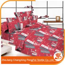 Gesticktes schweres Bettwäsche-Set für Doppelbetten