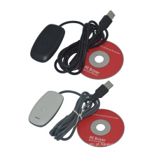 USB PC Wireless gGaming Receiver para Xbox 360 Controller Microsoft XBOX360 Console Gamepad Adaptador Acessórios
