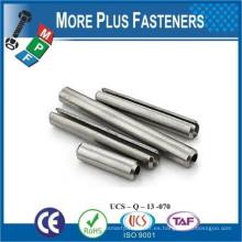 Hecho en Taiwán Engranaje paralelo de acero inoxidable Pin Pin de resorte Pin de pasador de precisión