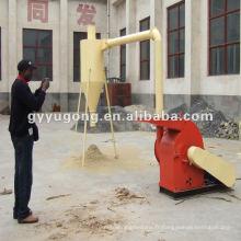 Machine de concassage de paille de blé