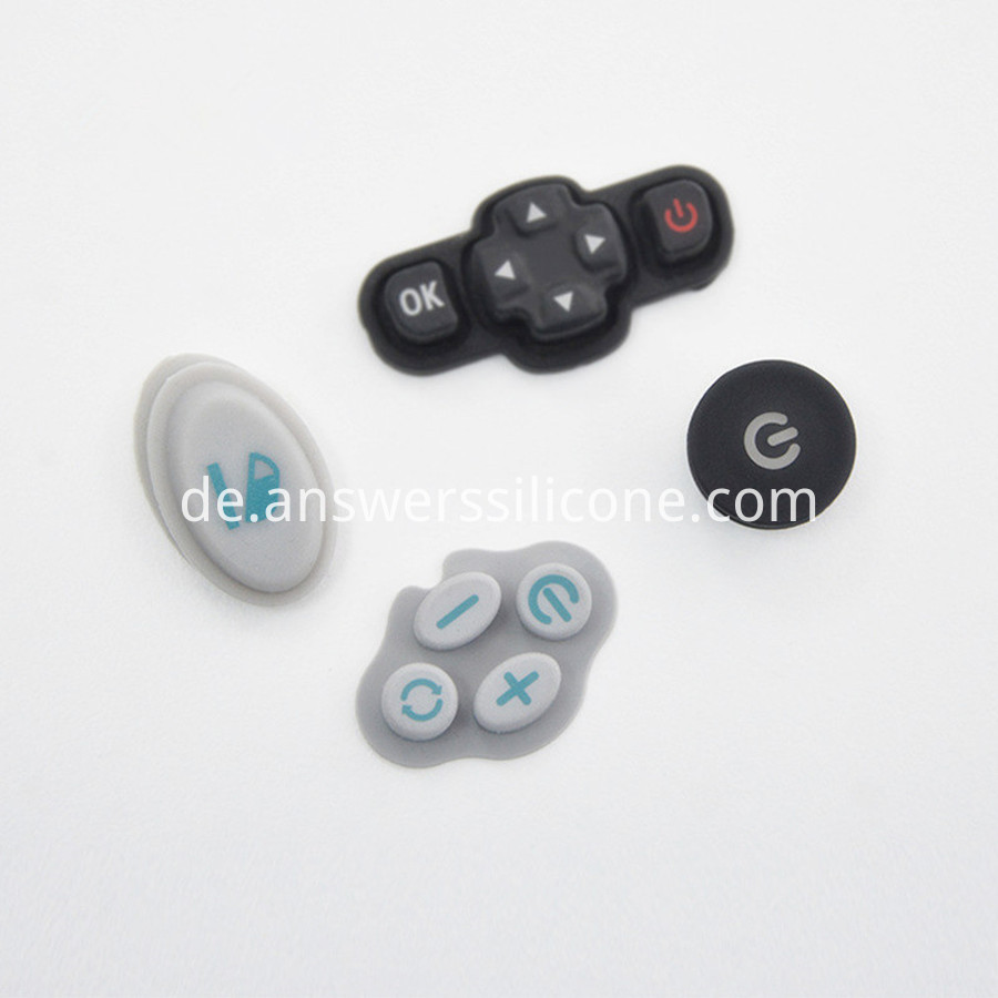 electronic silicone buttons