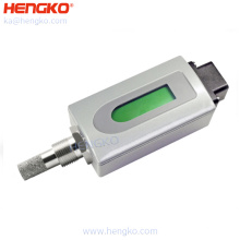 Hand-held Dew Point Humidity and Temperature Sensor Enclosure for Desiccant Dryers, -60 to +20 Degrees Celsius Dewpoint ISO9001