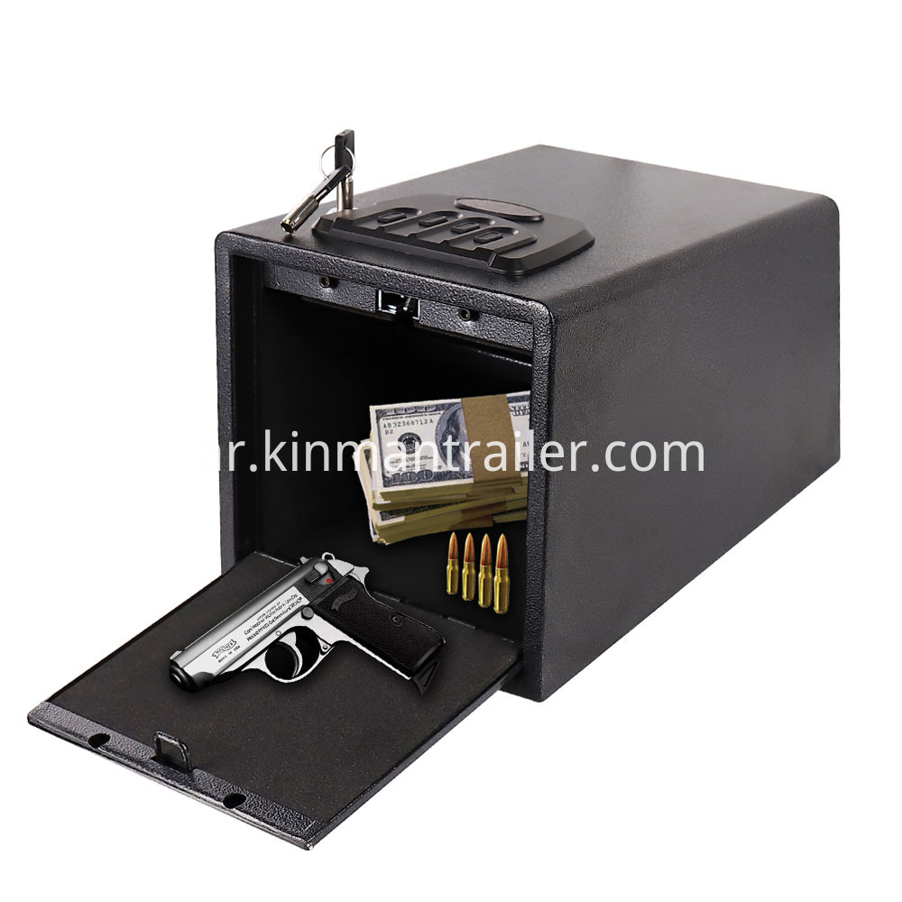 pistol lock boxes for cars