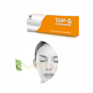 top-q acide hyaluronique injections de remplissage dermique facial pour le lifting 1ml