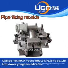 Fornecedor de moldes de plástico para moldagem de cotovelo de tubo de pvc de tamanho padrão, molde de injeção em taizhou China