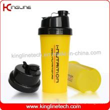 700ml Plastic Protein Shaker Bottle with Filter (KL-7026)