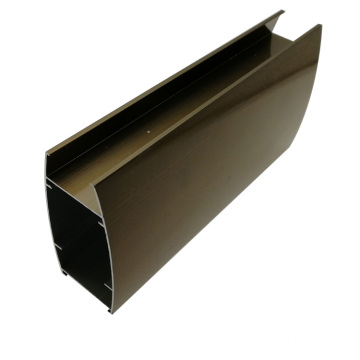 Wardrobe aluminium tube profiles wholesaler