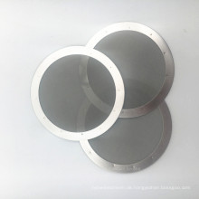 Kaffeefilter Disc für Aeropress Kaffeemaschine 304 Edelstahl Mesh Waschbar Handpresse Kaffeefilter