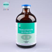 Levamisole Hydrochloride 5% Injection, puede matar simultáneamente una variedad de diferentes tipos de parásitos