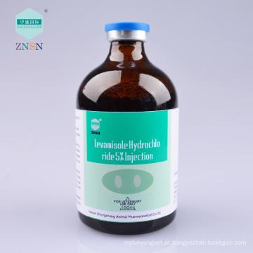 Levamisole Hydrochloride 5% Injection, Ele pode matar simultaneamente uma variedade de diferentes tipos de parasita