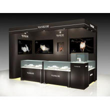 Fashion Style Watch Kiosk Decoration Design