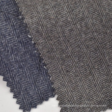 Available in stock wool poly cotton plaid fabric for jacket and winter coats