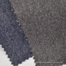 Disponível em tecido de lã poli algodão manta para jaqueta e casacos de inverno