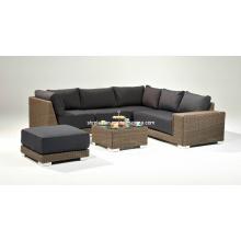 Garten Lounge Set Rattan Outdoor Patio Sofa Korbmöbel