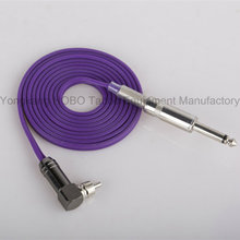 High Quality Tattoo Silicone Rubber Clipcord with 1/4′′ Plug