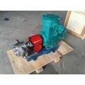 Bomba de engranajes de alta presión para resistencia a la corrosión del acero inoxidable.