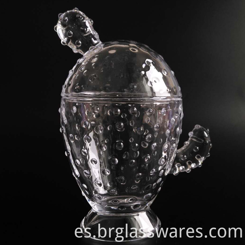 Cactus Food Glass Jar Wholesale20