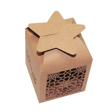 Laser Cut Wedding Favor Candy Candy Sweet Box