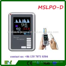 MSLPO-D 2016 oxímetro de pulso de mano barato con CE y aprobado por la FDA