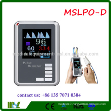 MSLPO-D 2016 Cheap Handheld Pulse Oximeter with CE and FDA approved