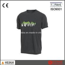 OEM Mens manga curta algodão impresso T-Shirt