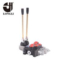 2P40 Longli 2 Spool Hydraulic Directional Control Valve