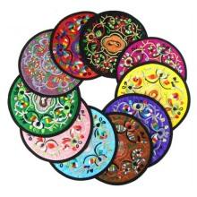 Stickerei-Blumen-Cup-Matte für Tabelle