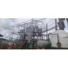 Reciclaje de la máquina de refinación de aceite usado de destilación