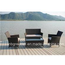Heiße Verkauf Wicker Patio Konversation Set Günstige Rattan Möbel