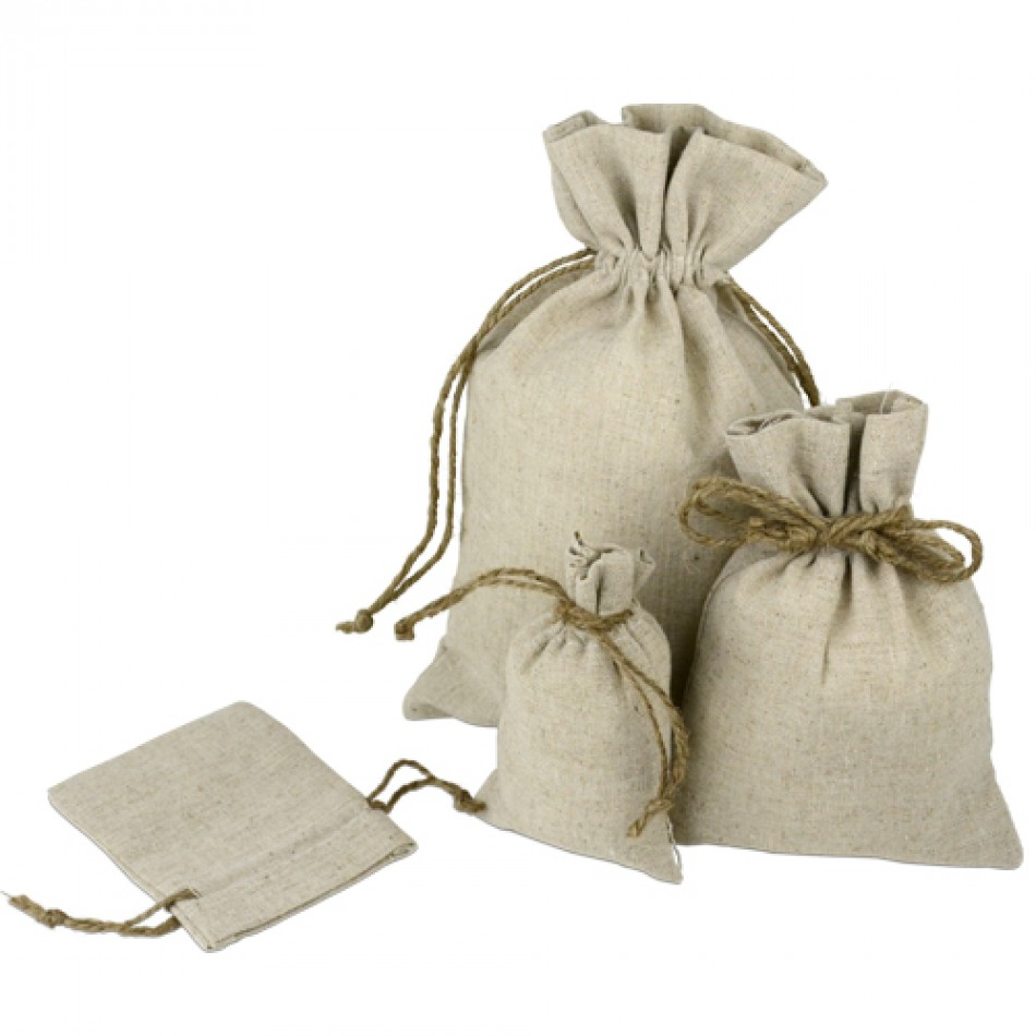 jute draw string bag