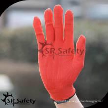 SRSAFETY 13 калибр Красный нейлон / полиэфирный перчаточный лайнер оптовые продажи
