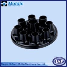 Parte do chinês de injetoras plástica preta