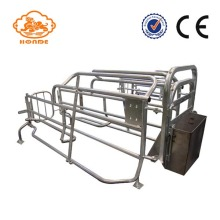Automatic Welding Galvanized Tube Farrowing Cages For Sow